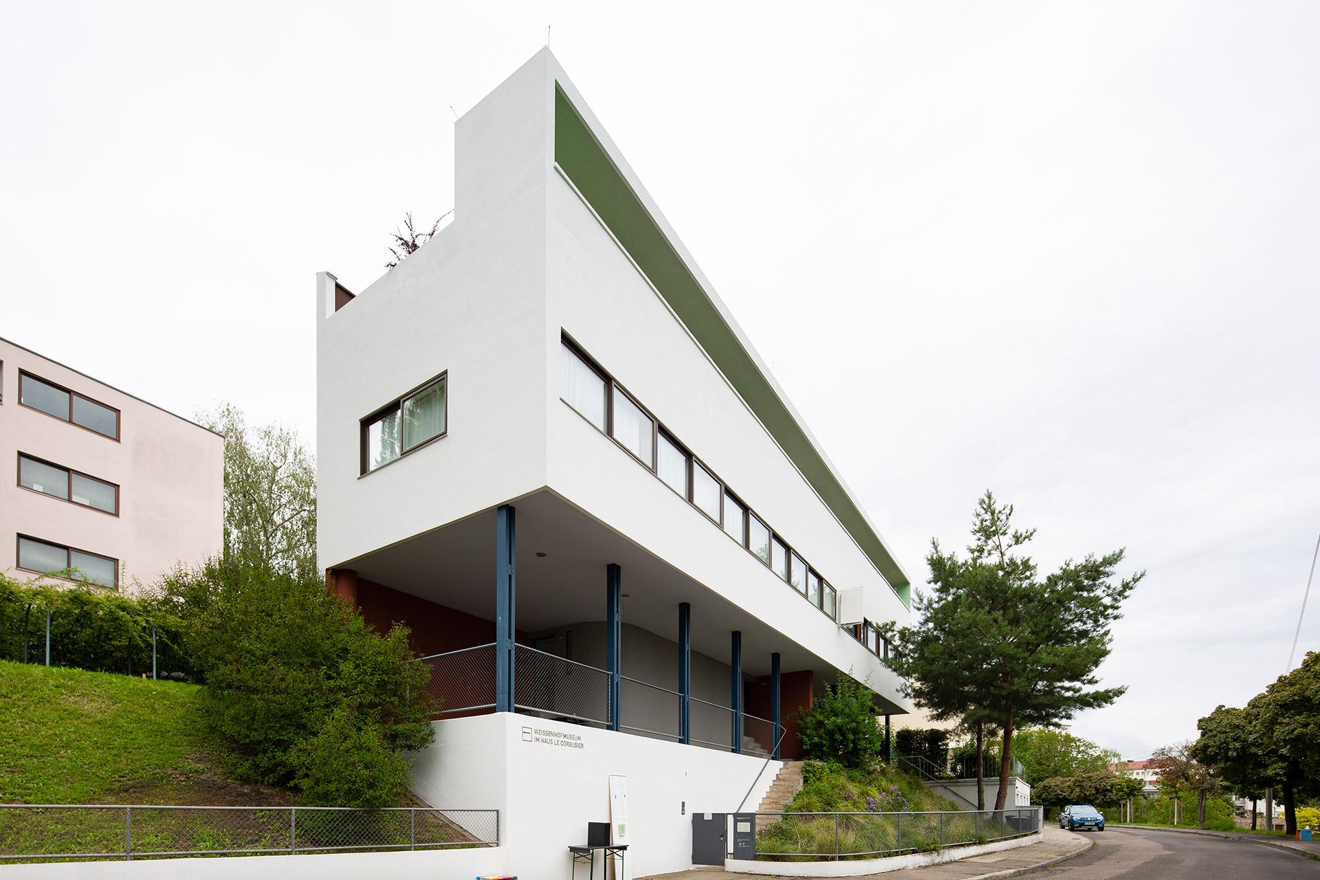 Weissenhofsiedlung Stuttgart - UNESCO Welterbe - Weissenhofmuseum von Le Corbusier